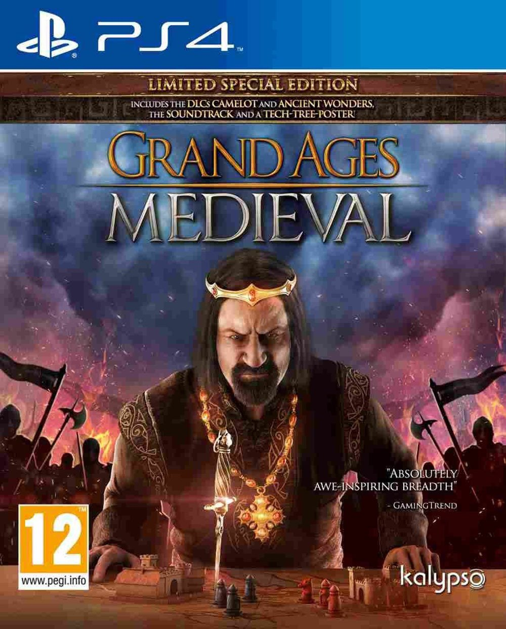 Grand Ages: Medieval (Playstation 4) Best Price and Cheapest