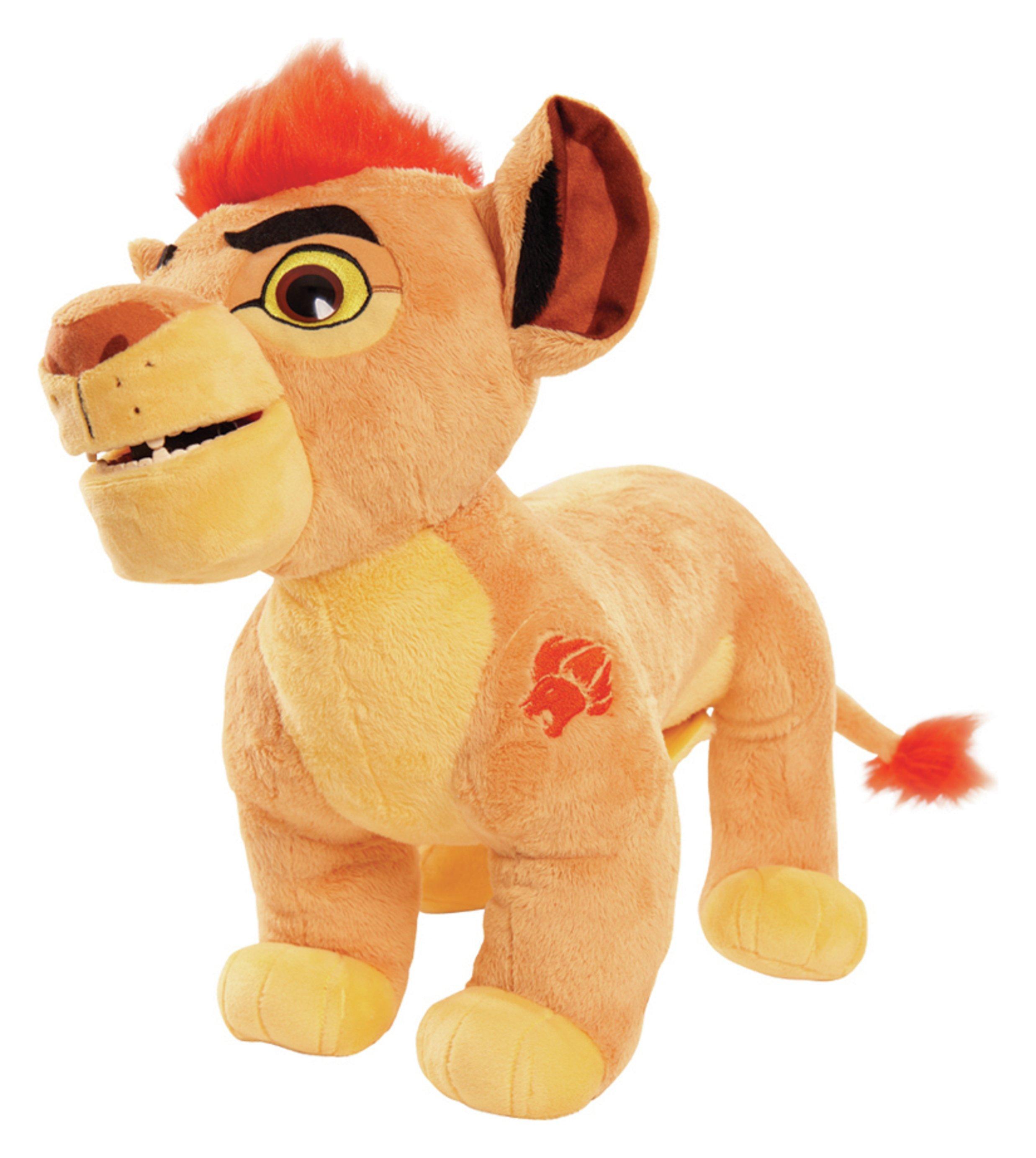 Lion Guard Leap N' Roar Kion Animated Soft Toy.