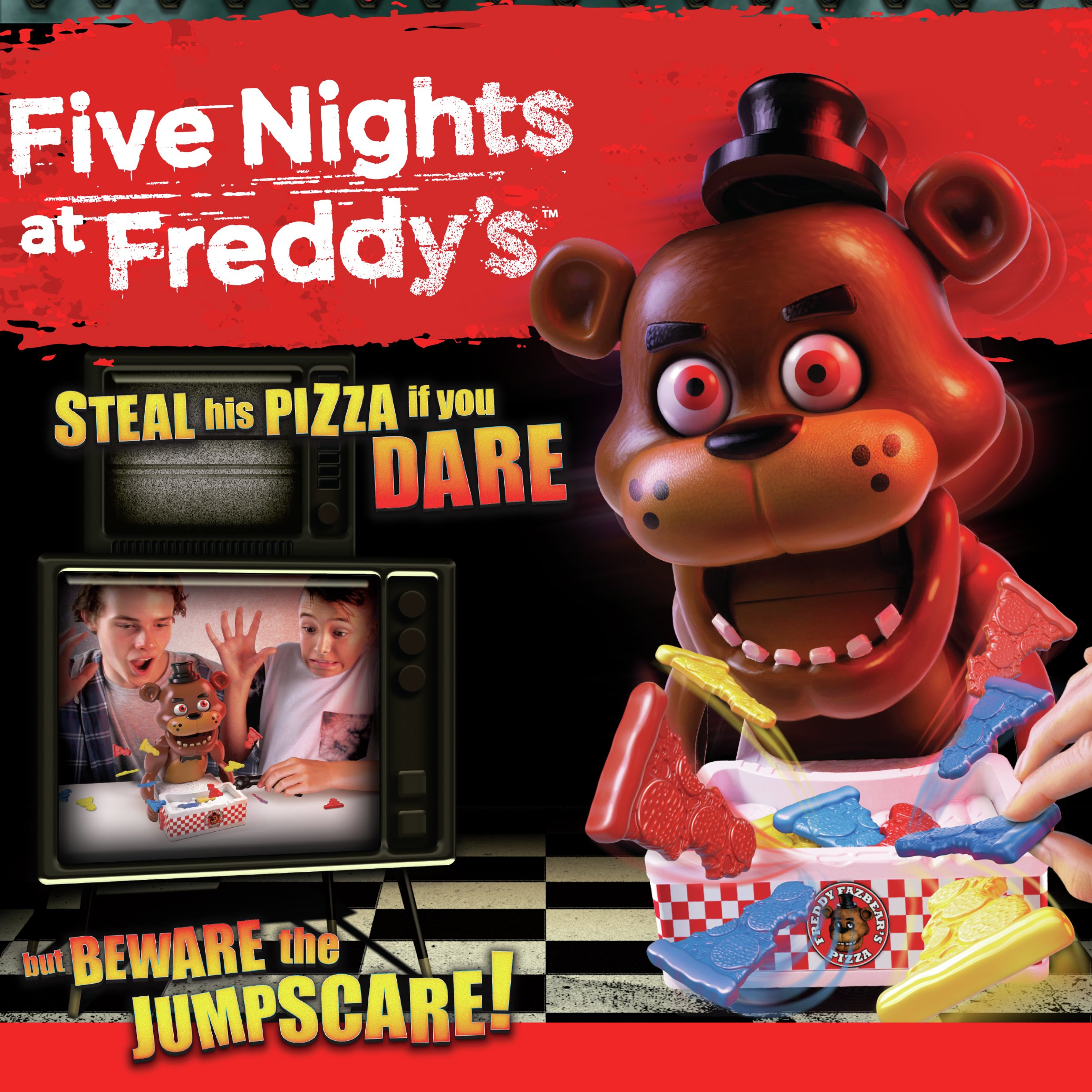 Image of Five Nights at Freddy's Jumpscare Game.