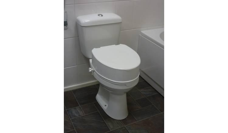 Stupendous Buy 6 Inch Raised Toilet Seat With Lid Raised Toilet Seats Argos Creativecarmelina Interior Chair Design Creativecarmelinacom