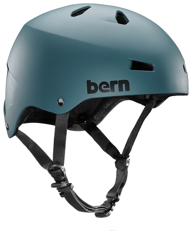 Image of Bern Macon EPS Summer Helmet - Matte Teal