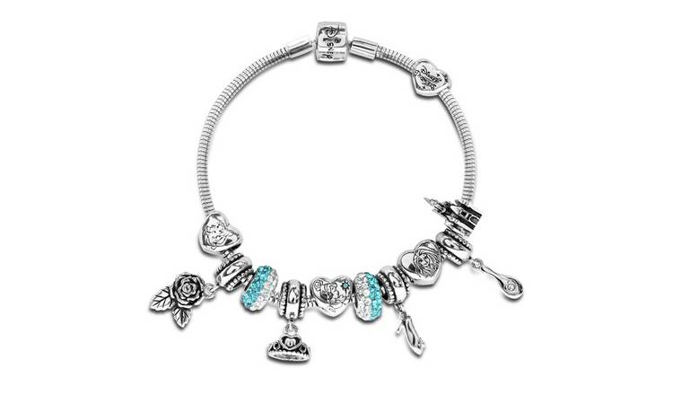 5fab5f1af Buy Disney Princess Crystal Made Up Charm Bracelet | Kids charm ...