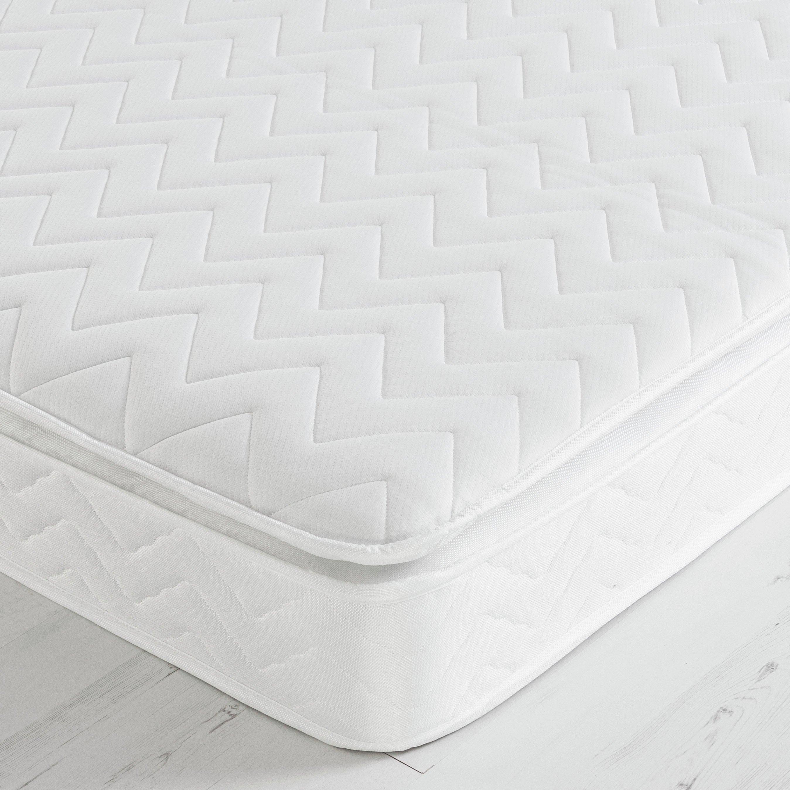 Image of Airsprung Sleepwalk Sprung Pillowtop Mattress - Double