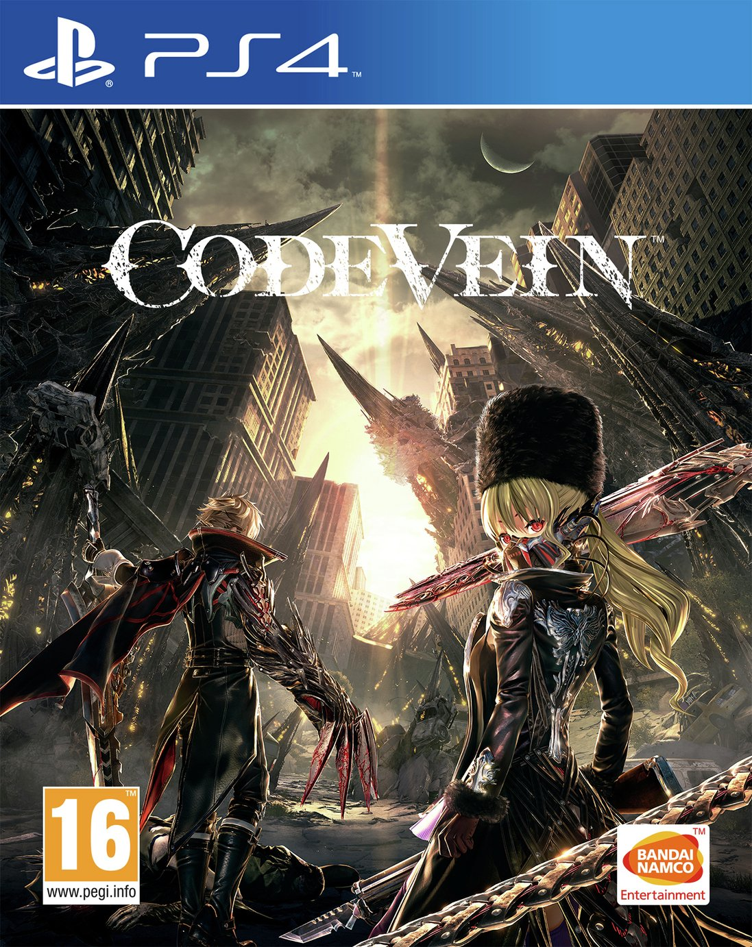 Image of Code Vein PS4 Pre-Order Game.