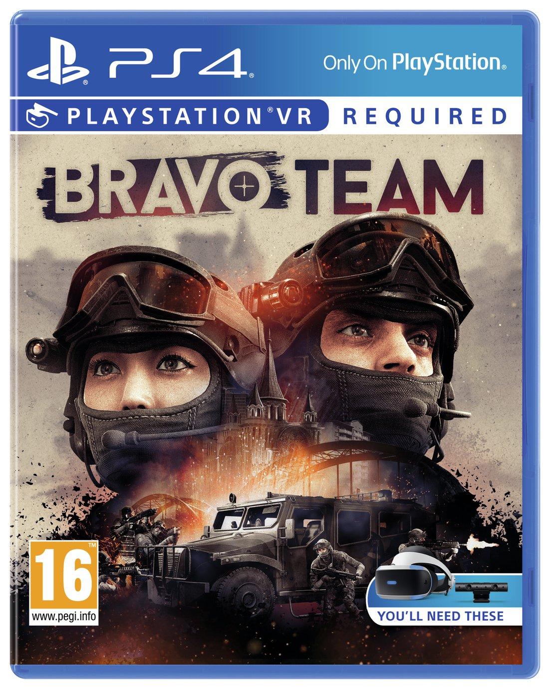 Image of Bravo Team PS4 VR Pre-Order Game.