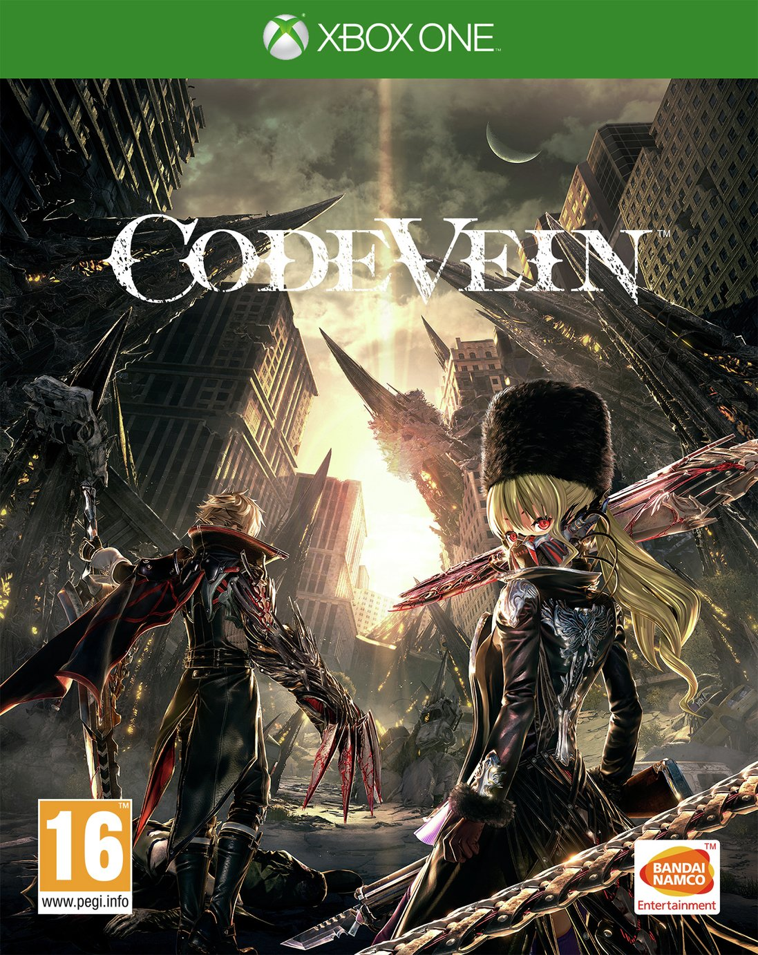 Image of Code Vein Xbox One Pre-Order Game.