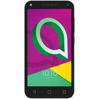 Sim Free Alcatel U5 4G Mobile Phone - Black / Grey