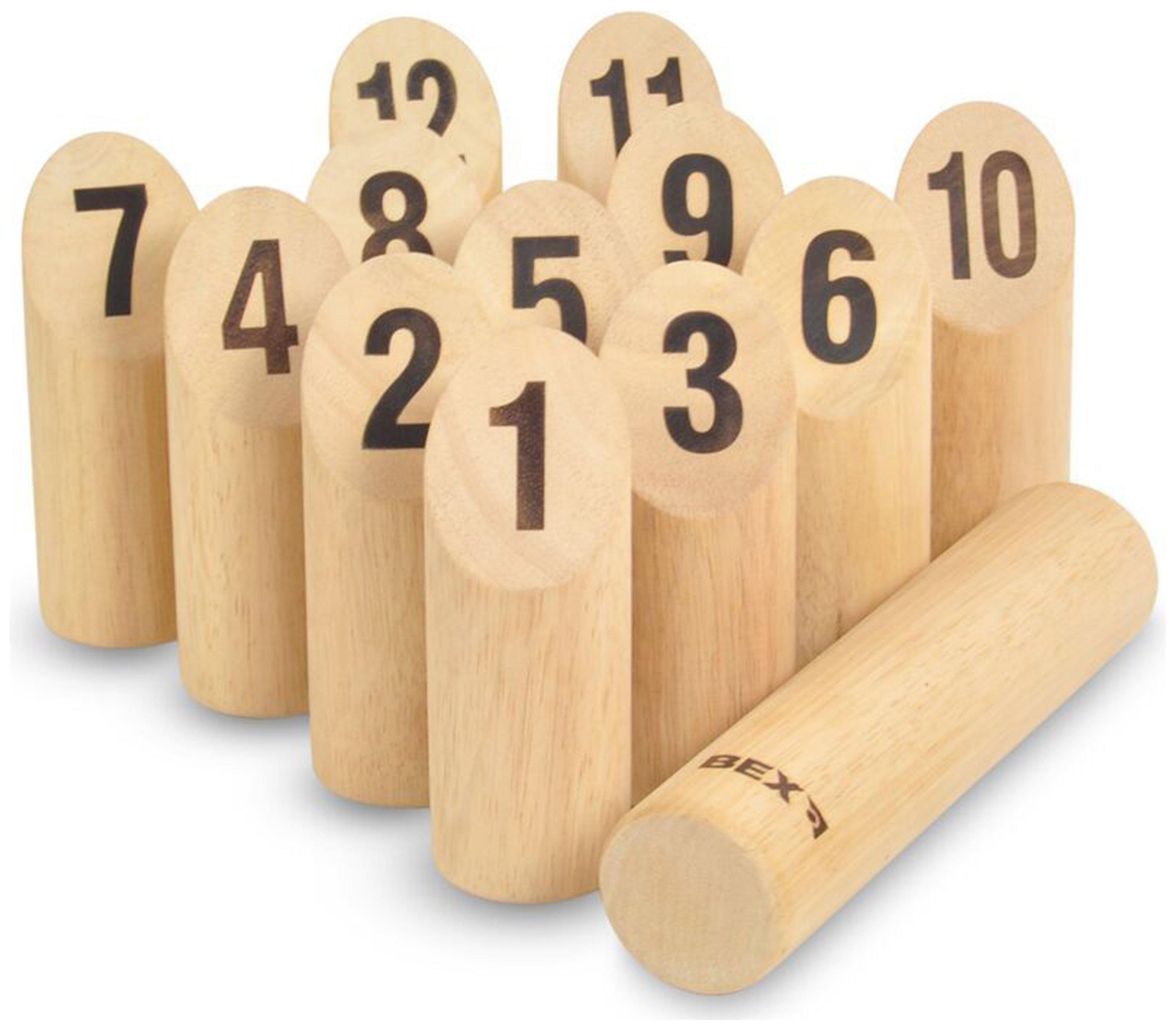 Image of Bex Number Kubb Original Game.