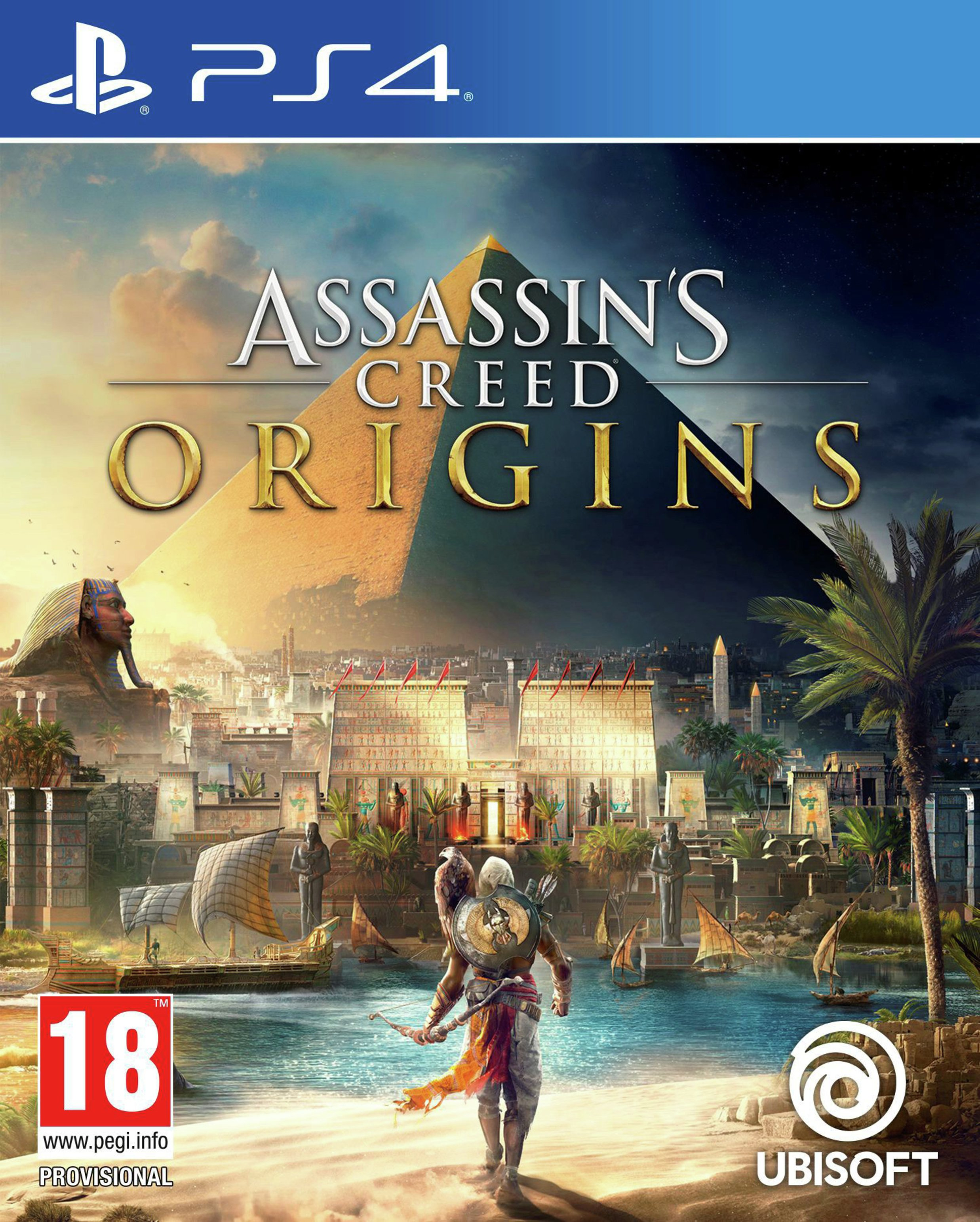 Image of Assassins Creed Origins Collectors Edition PS4 Game