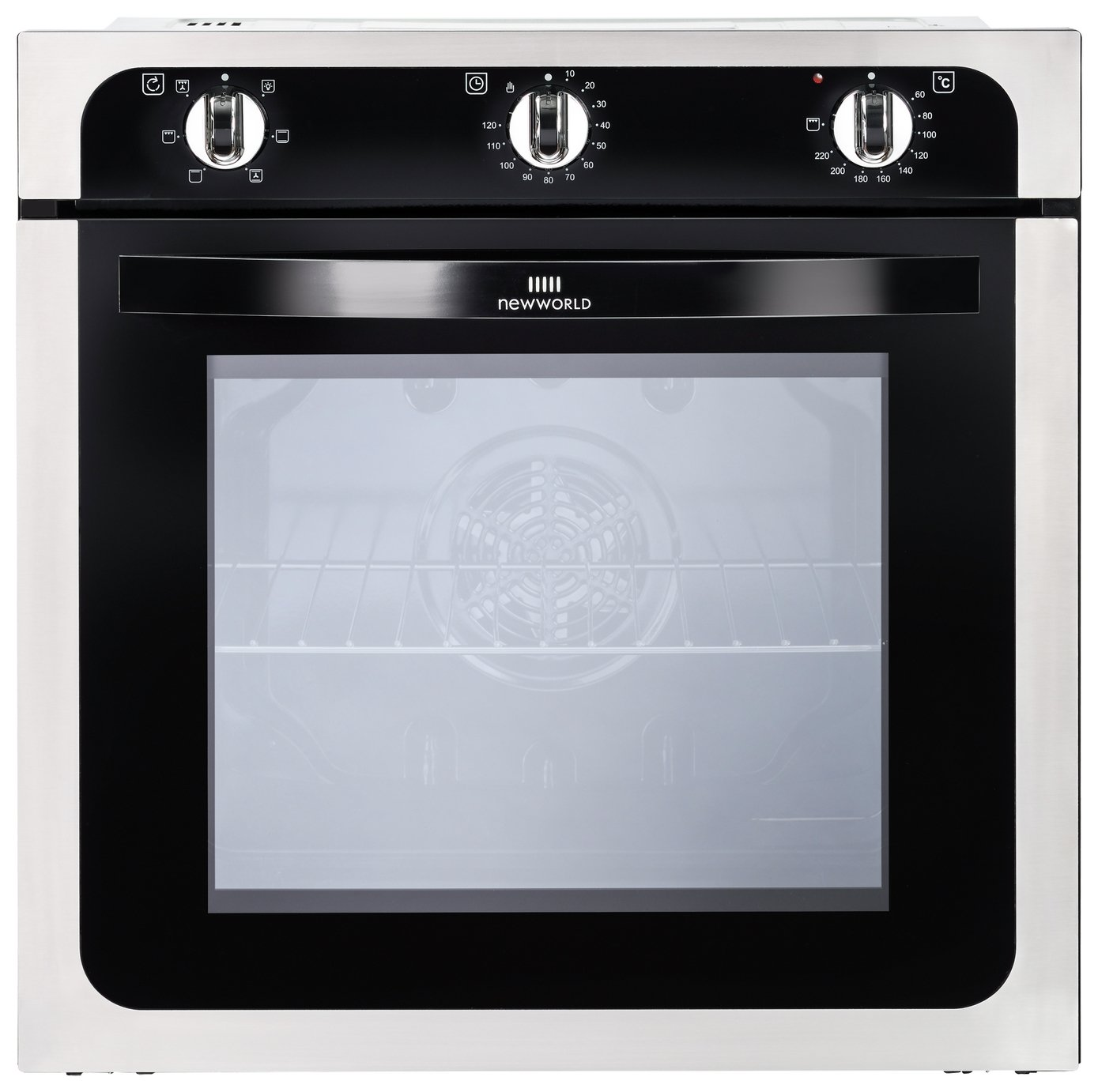 New World NW602F Built-in Single Oven - Stainless Steel.