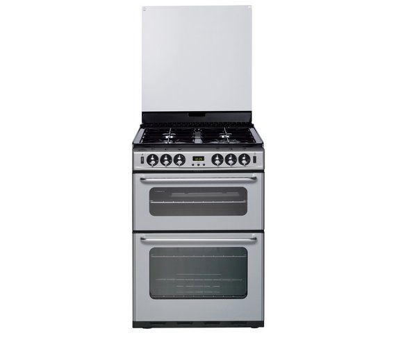 buy new world 600tsidom gas cooker silver freestanding. Black Bedroom Furniture Sets. Home Design Ideas