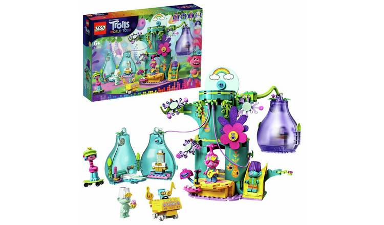 LEGO Trolls World Tour Pop Village Celebration Playset-41255