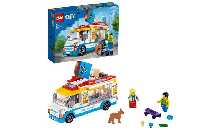 LEGO City Great Vehicles Ice-Cream Truck Building Set- 60253