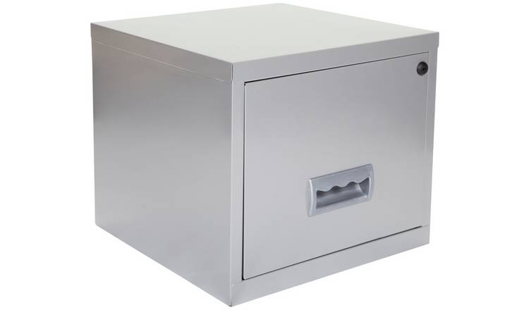 398e84ff5d8 Buy Pierre Henry 1 Drawer Filing Cabinet - Silver