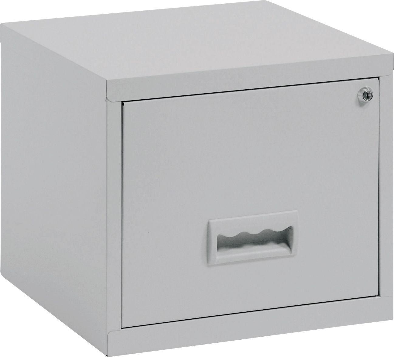 Pierre Henry - 1 Drawer Filing Cabinet - Grey