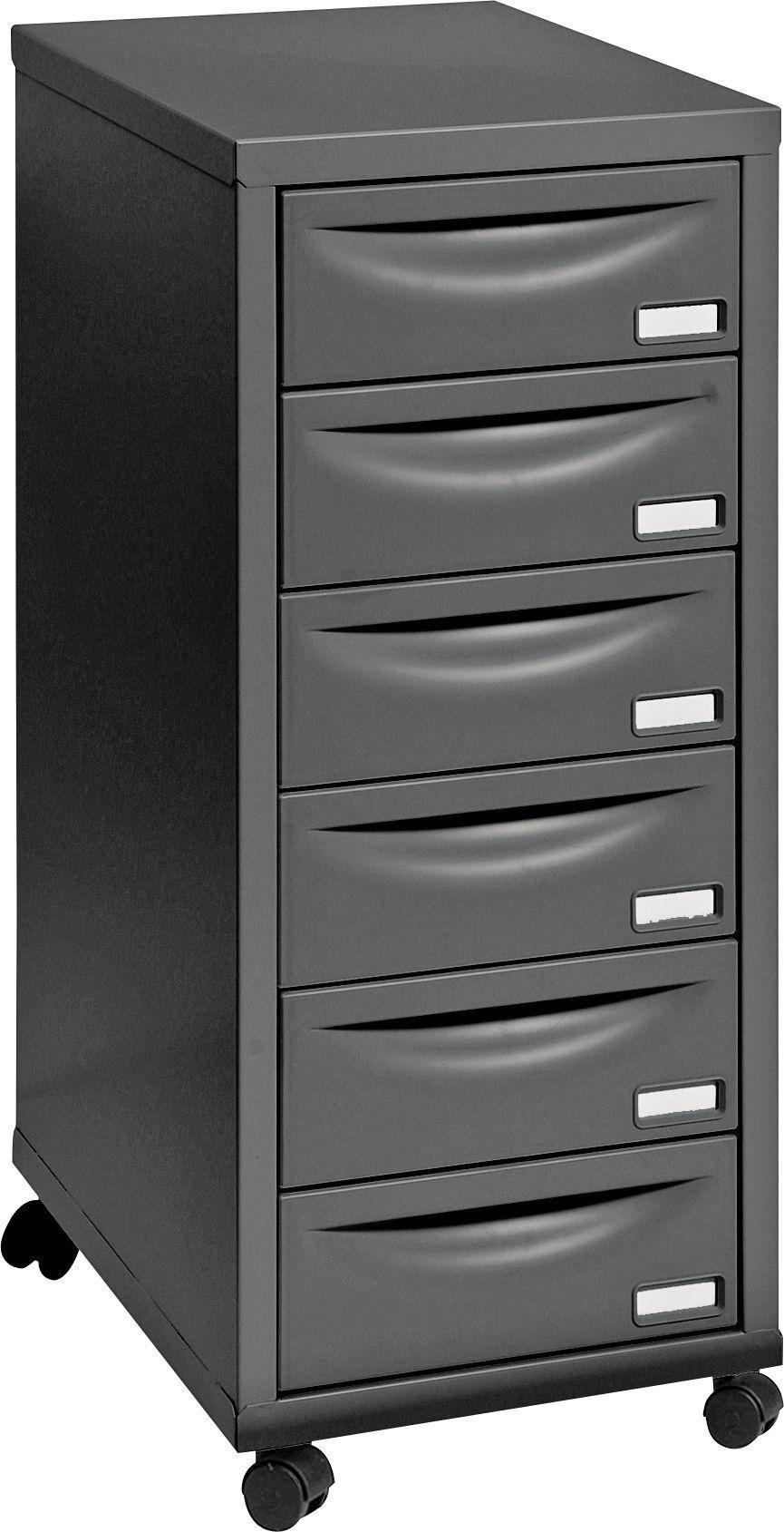 Buy Pierre Henry 6 Drawer Multi Filing Cabinet Black Filing Cabinets