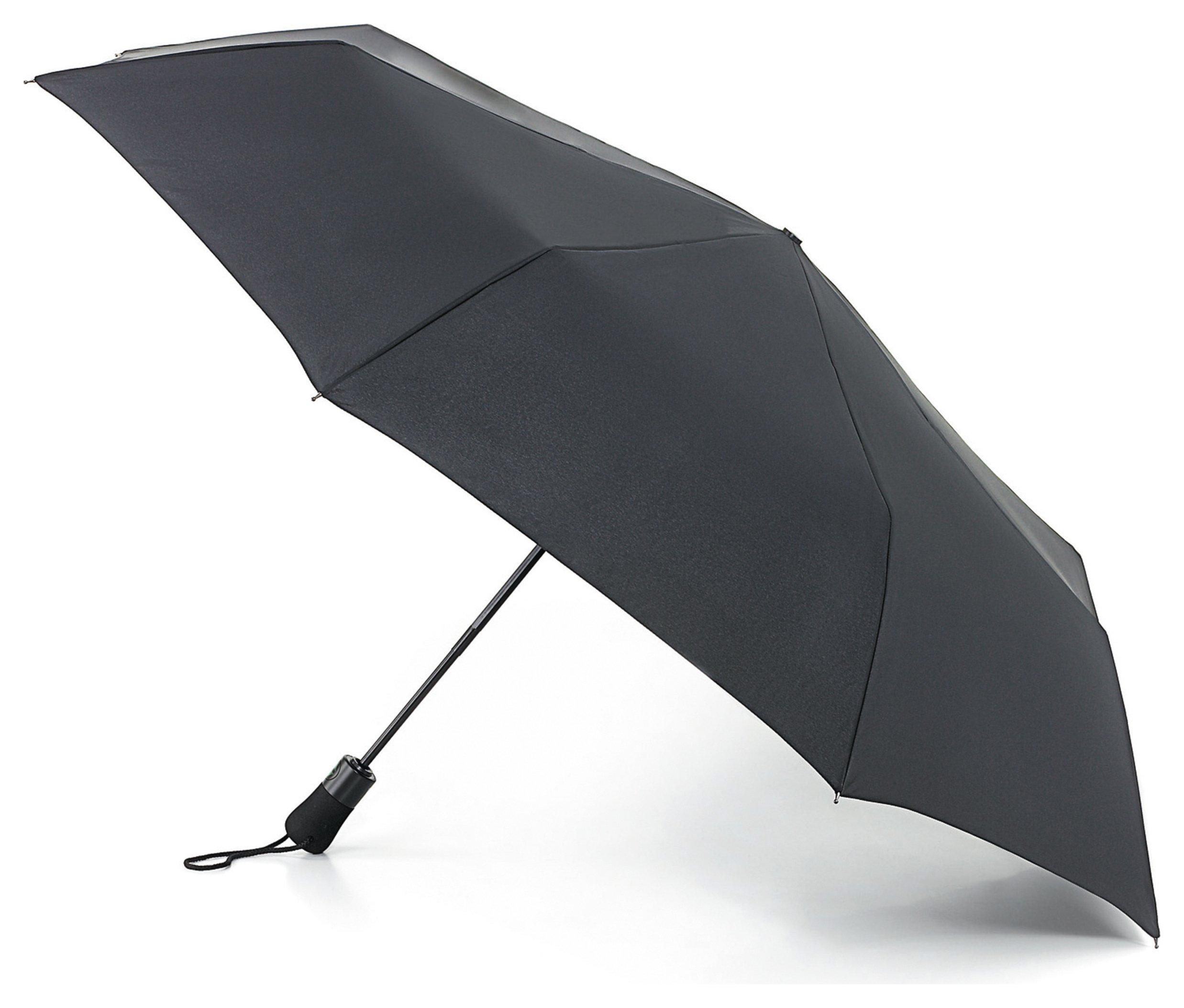 Fulton Open & Close Jumbo Umbrella - Black