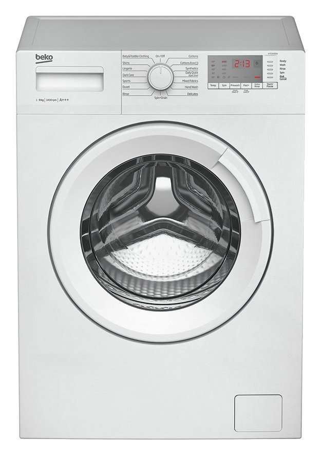 Image of Beko WTG941B1W 9KG 1400 Spin Washing Machine - White