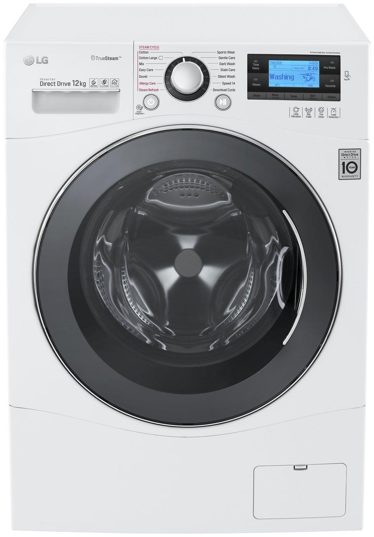 LG FH495BDS2 12KG 1400 Spin Washing Machine - White