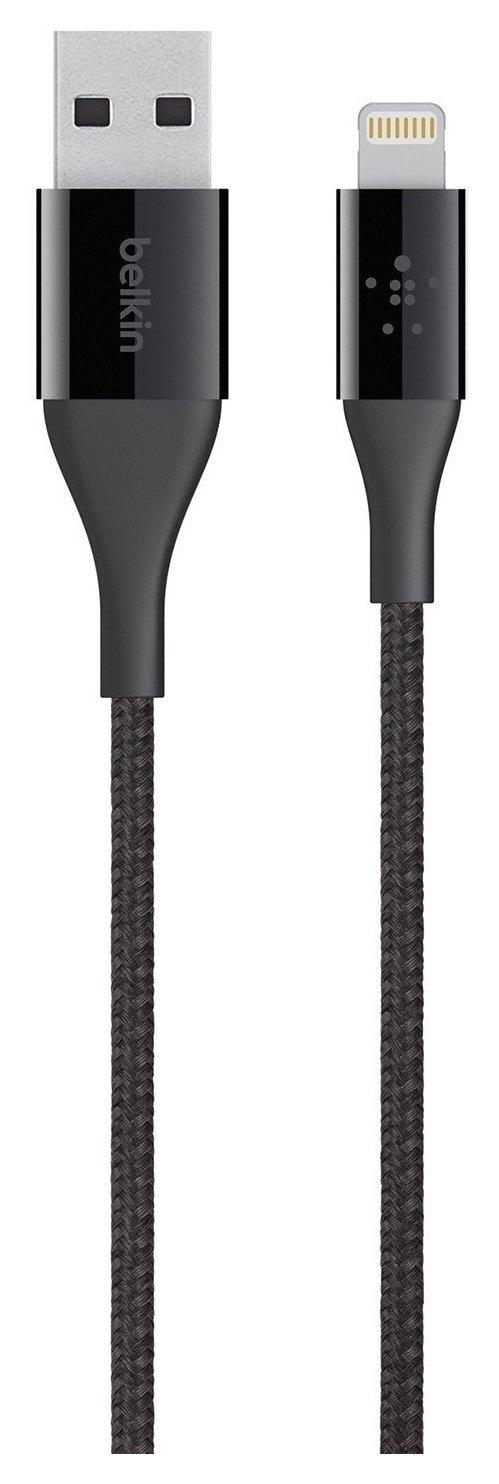 Belkin - Mixit DuraTek Lightning to USB 12m Cable - Black