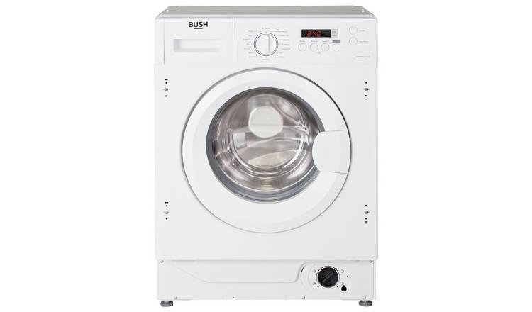 Buy Bush WMNSINT714W Integrated 7KG 1400 Washing Machine ...