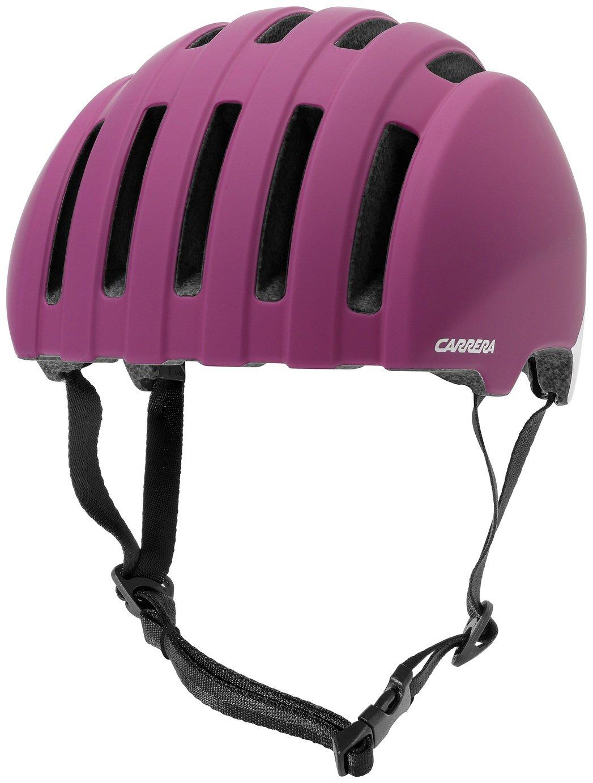 Image of Carrera Precinct Helmet - Matte Fuchsia Ivory
