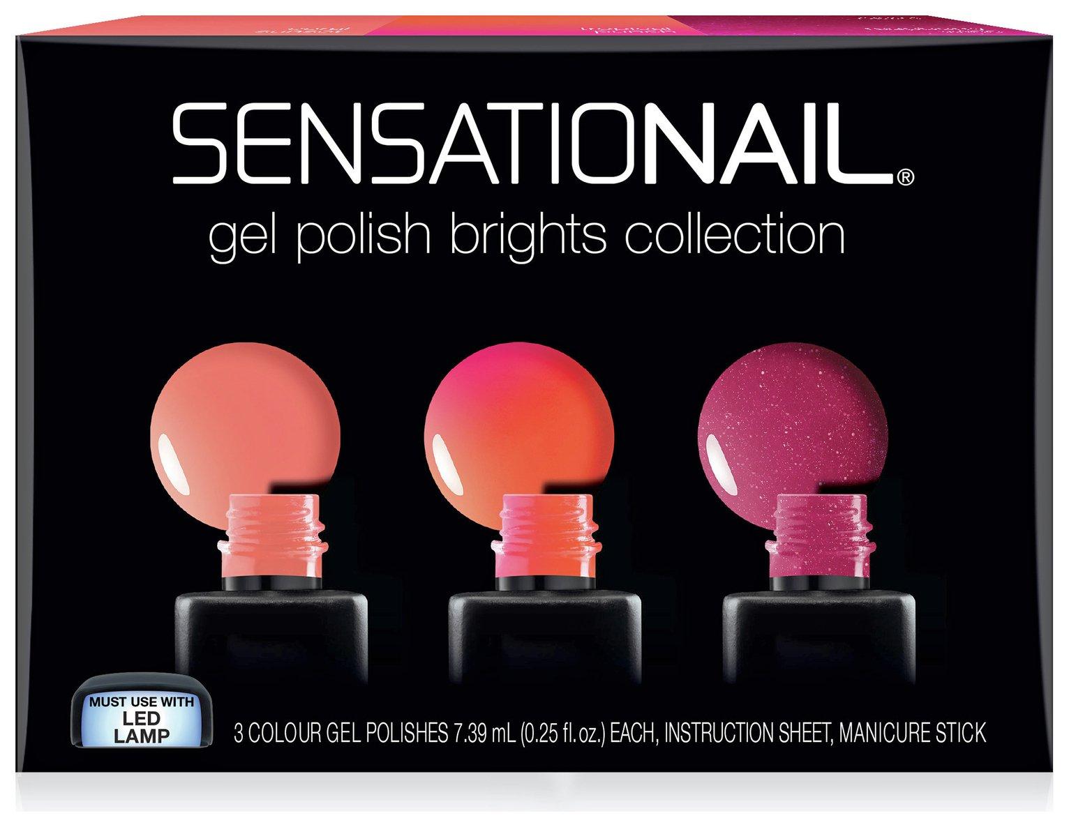 SensatioNail Brights Gel Polish - Set of 3