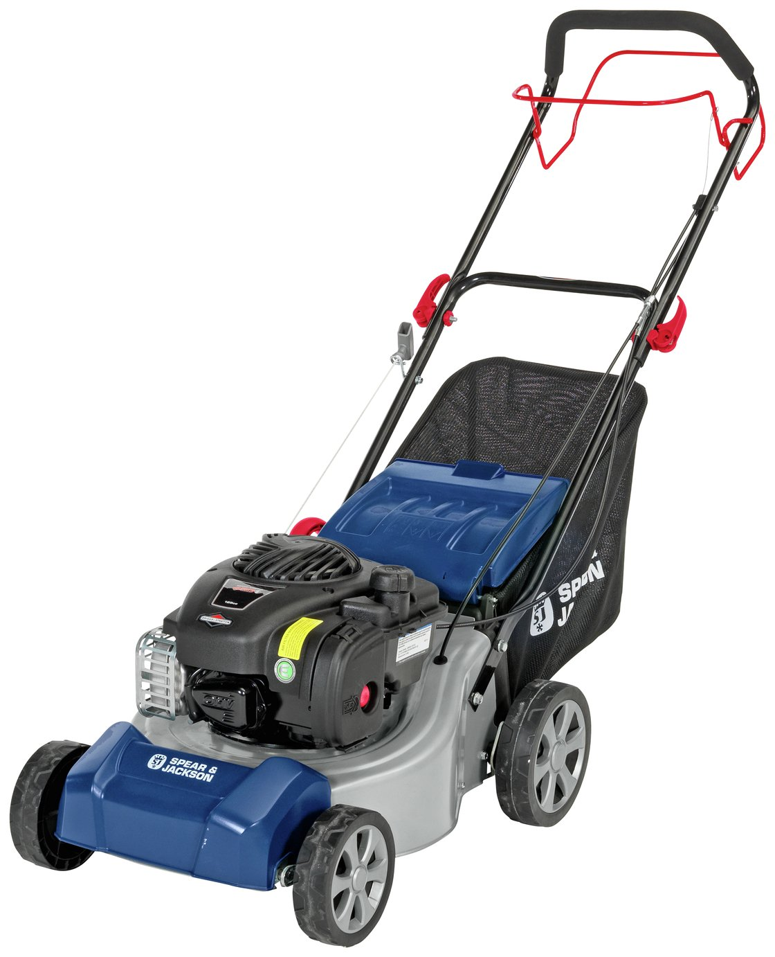 Spear & Jackson 41cm Self Propelled Petrol Lawnmower - 125cc