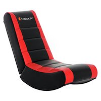 X-Rocker Junior Gaming Chair - Black and Red