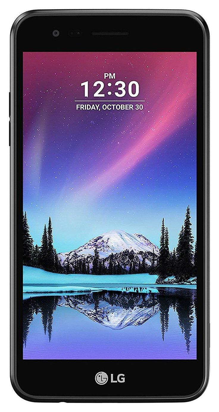 lg phone black. sim free lg k4 mobile phone - black lg r