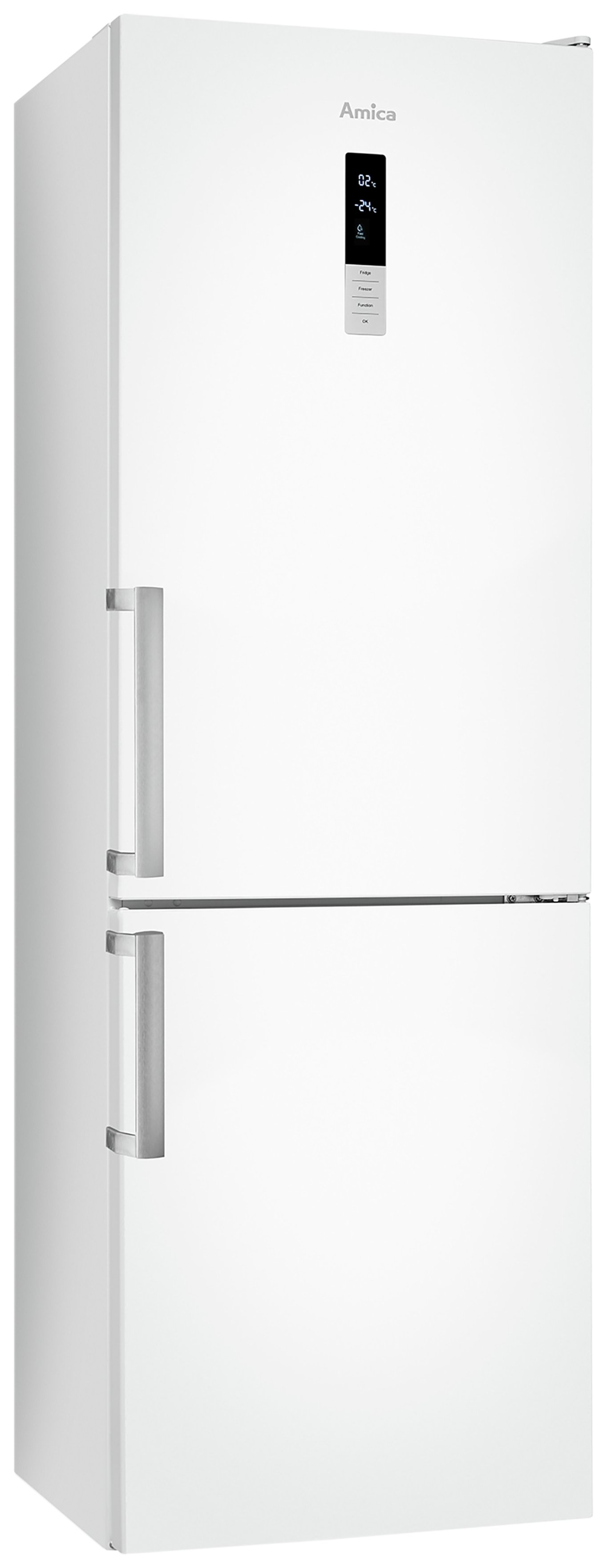 Amica FK3213DF Frost Free Tall Fridge Freezer - White