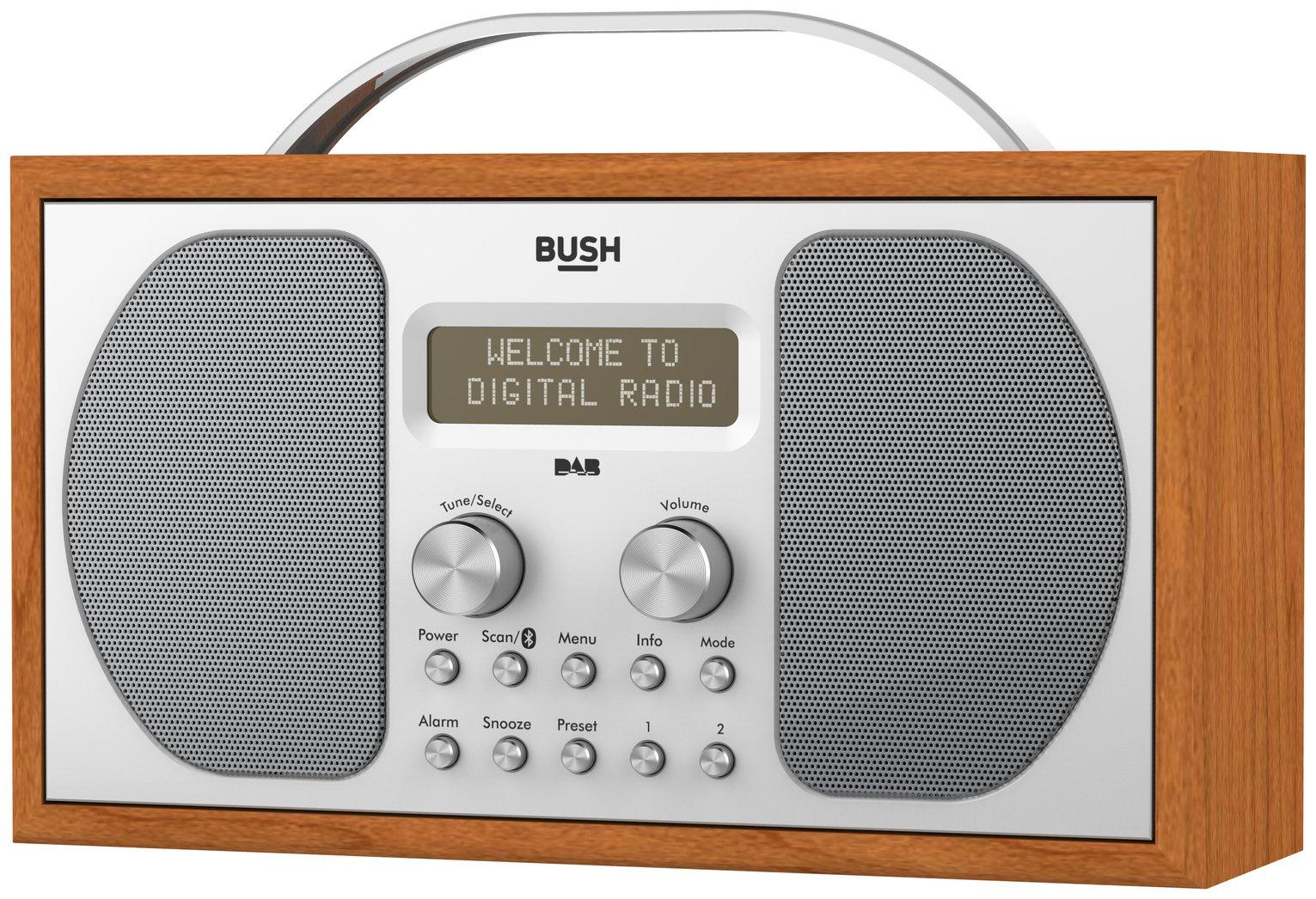 bush dab bluetooth wooden radio gay times uk. Black Bedroom Furniture Sets. Home Design Ideas