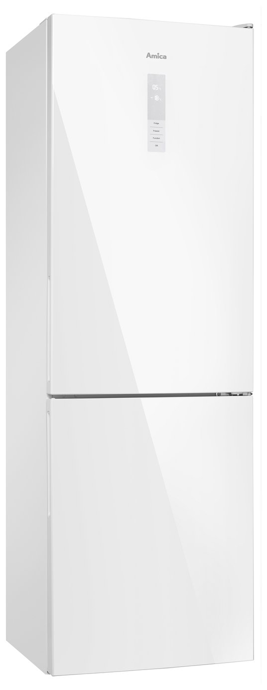 Amica FK3216WDF Frost Free Tall Fridge Freezer - White