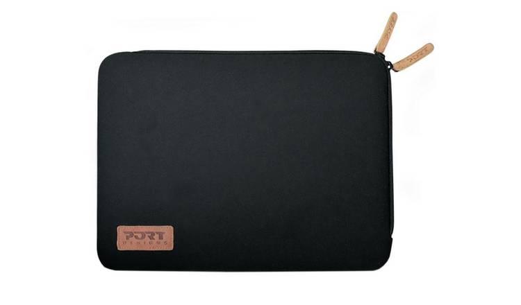 54cbb78282c9 Buy Port Designs Torino 15.6 Inch Laptop Sleeve - Black   Laptop bags,  cases and skins   Argos