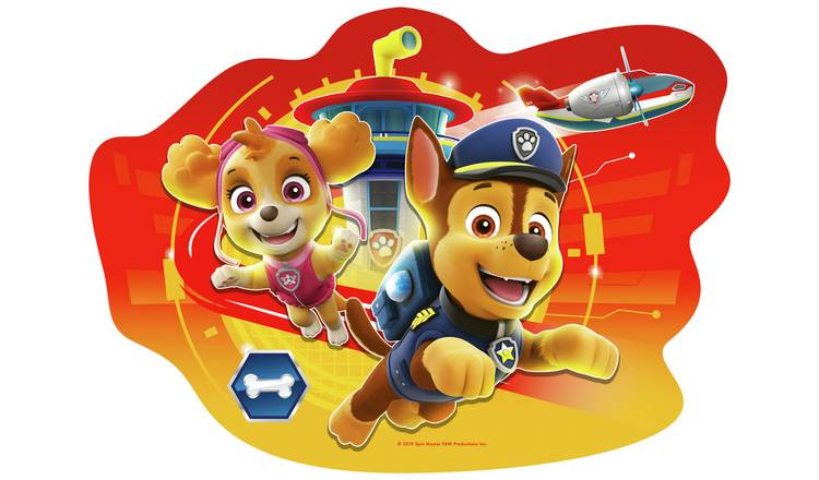 Buy Ravensburger PAW Patrol Floor 4 Shaped Jigsaw Puzzles | 2 for 15 pounds  on Toys | Argos