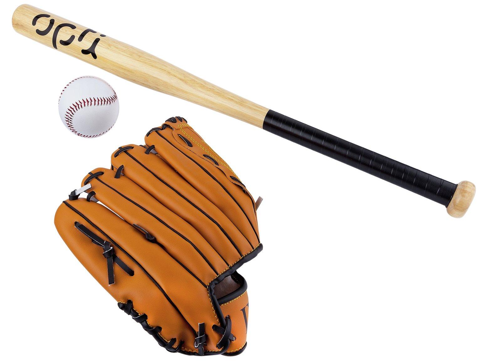Opti Baseball Bat, Ball and Glove Set - 25 Inch