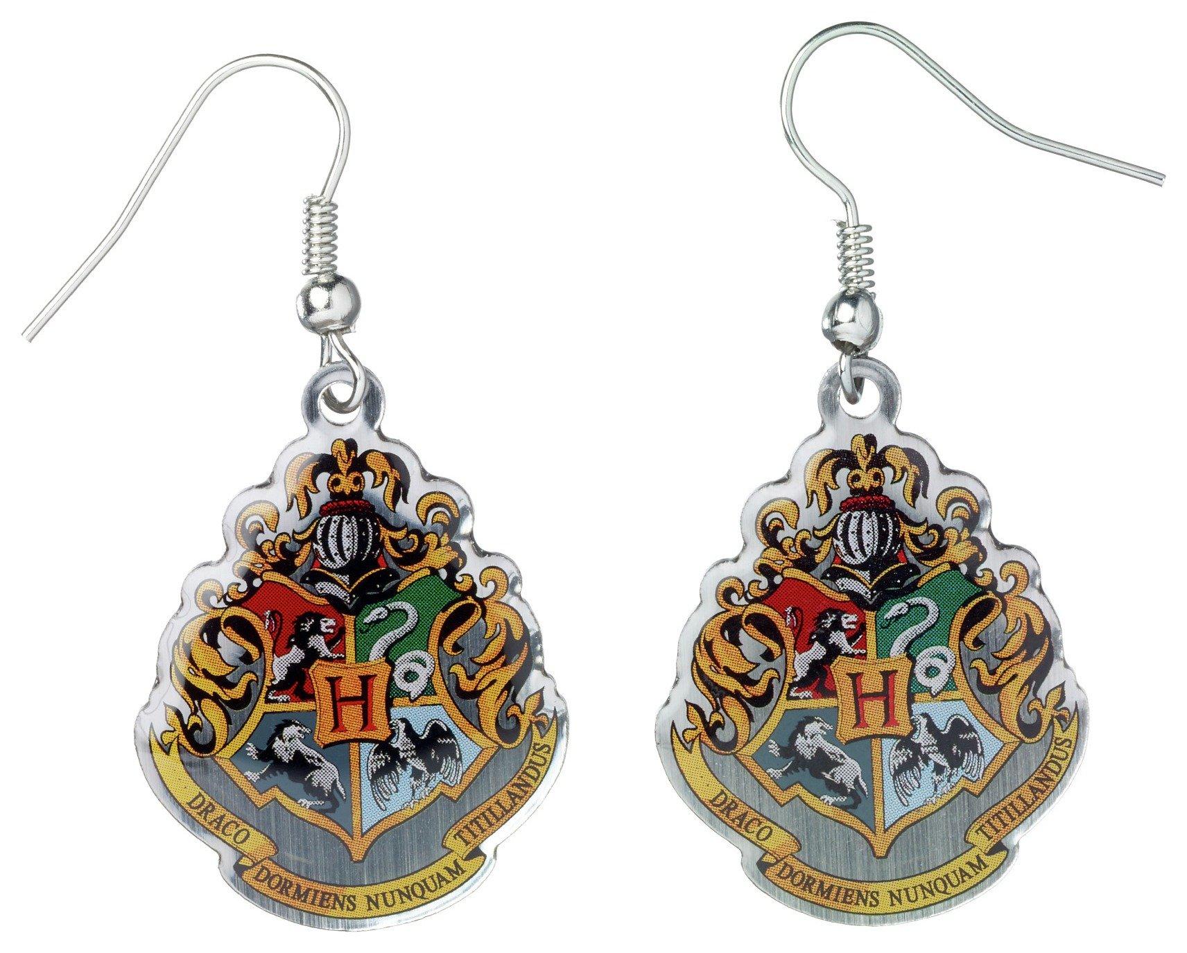 Image of Harry Potter Hogwarts Crest Earrings