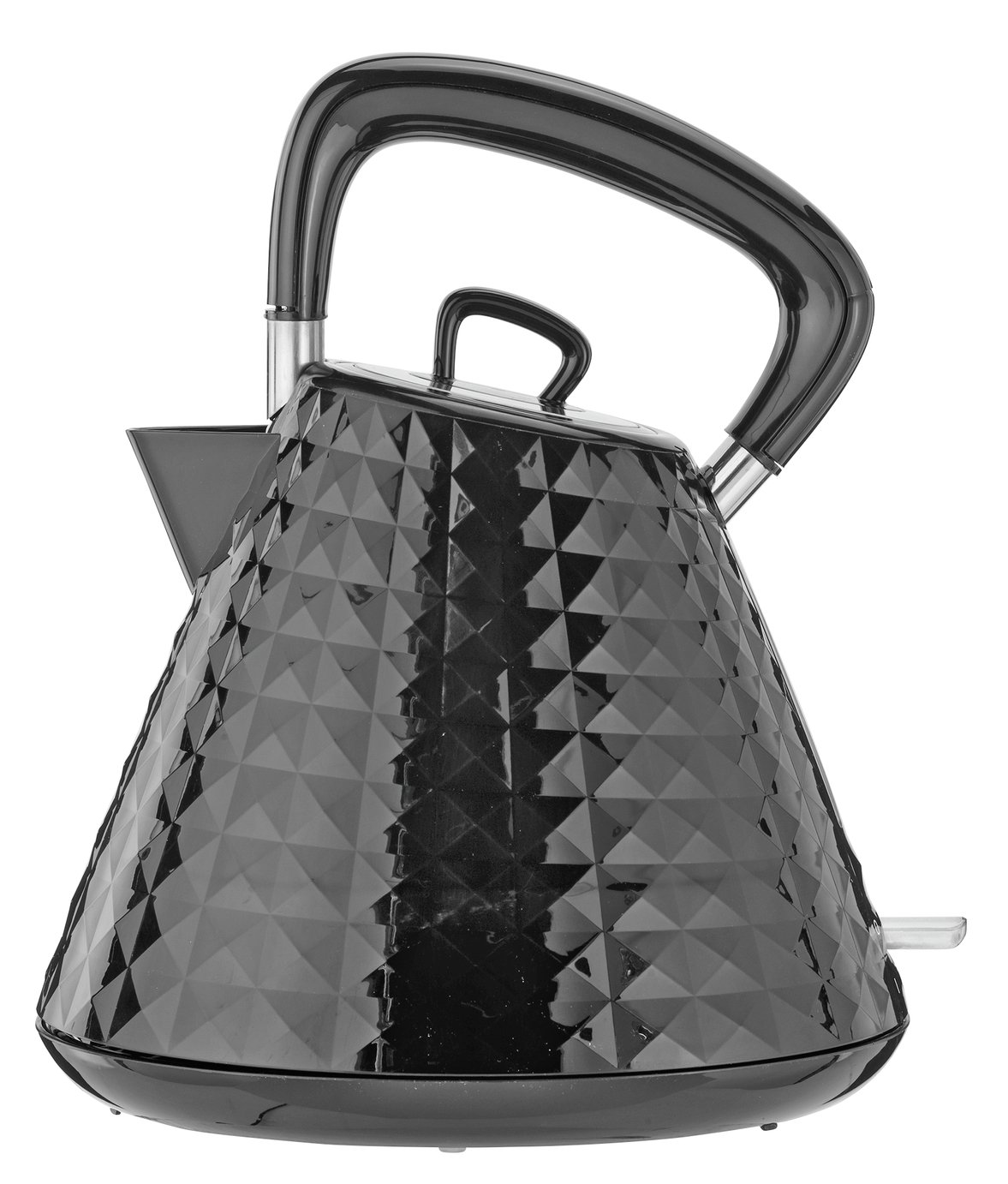 Cookworks Textured Kettle - Black