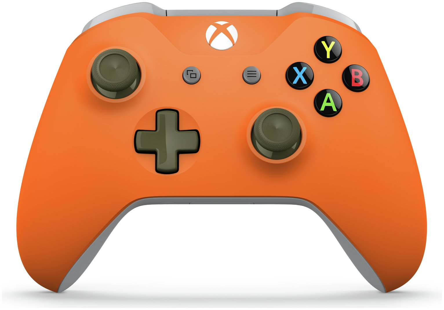 Xbox Wireless Controller – Zest Orange / Military Green