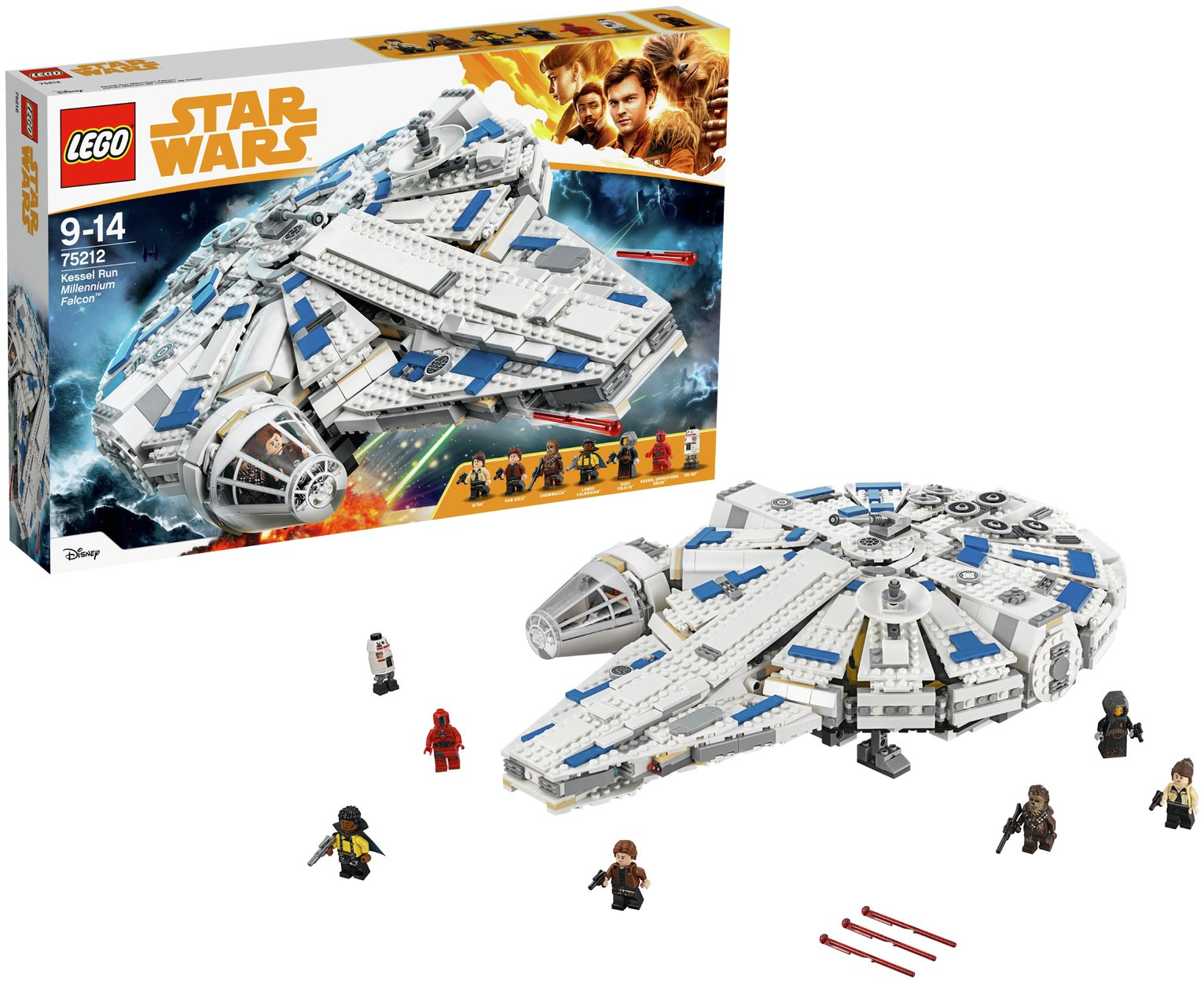 Image of LEGO Star Wars Kessel Run Millennium Falcon - 75212