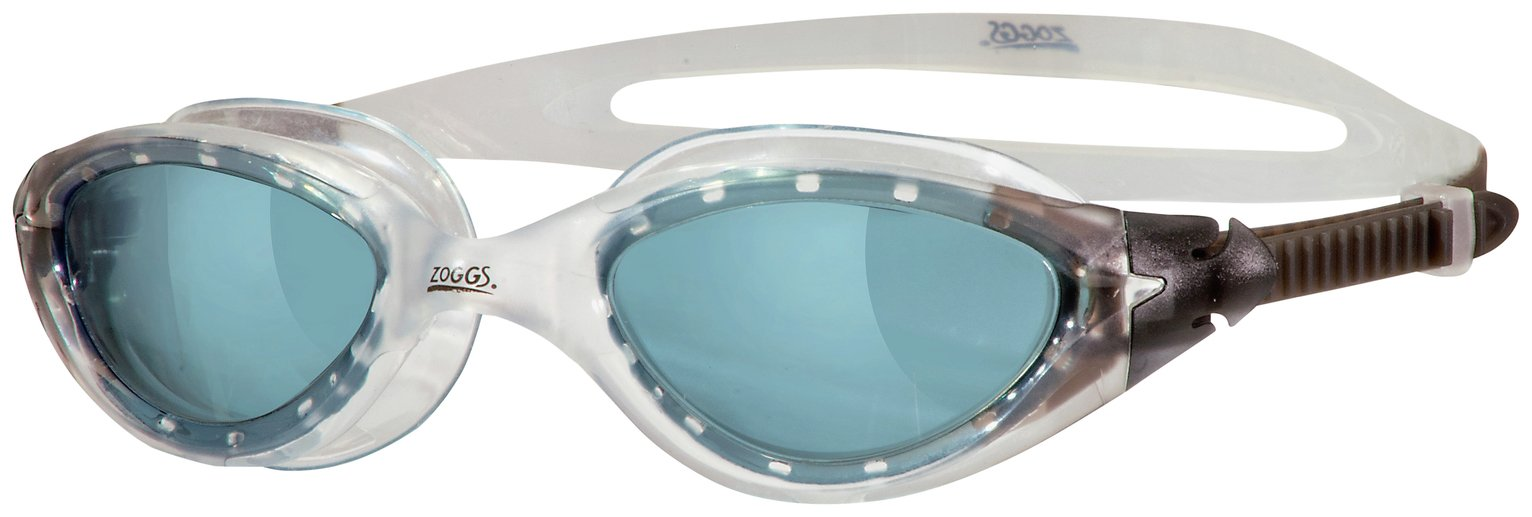 Zoggs Panorama Clear Smoke Goggles - Adults.