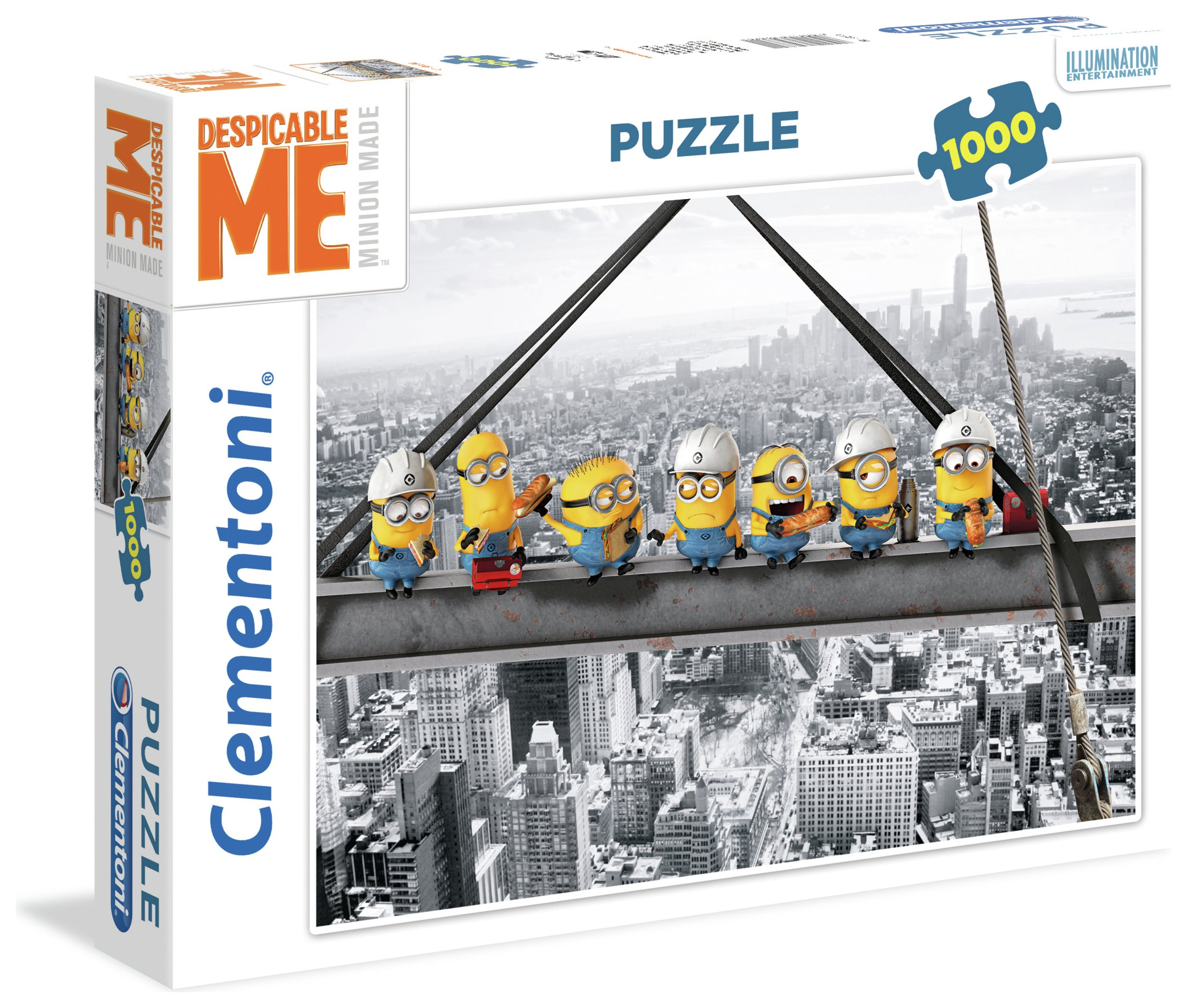 Image of Clementoni Despicable Me 3 1000 Puzzle - Skyscraper