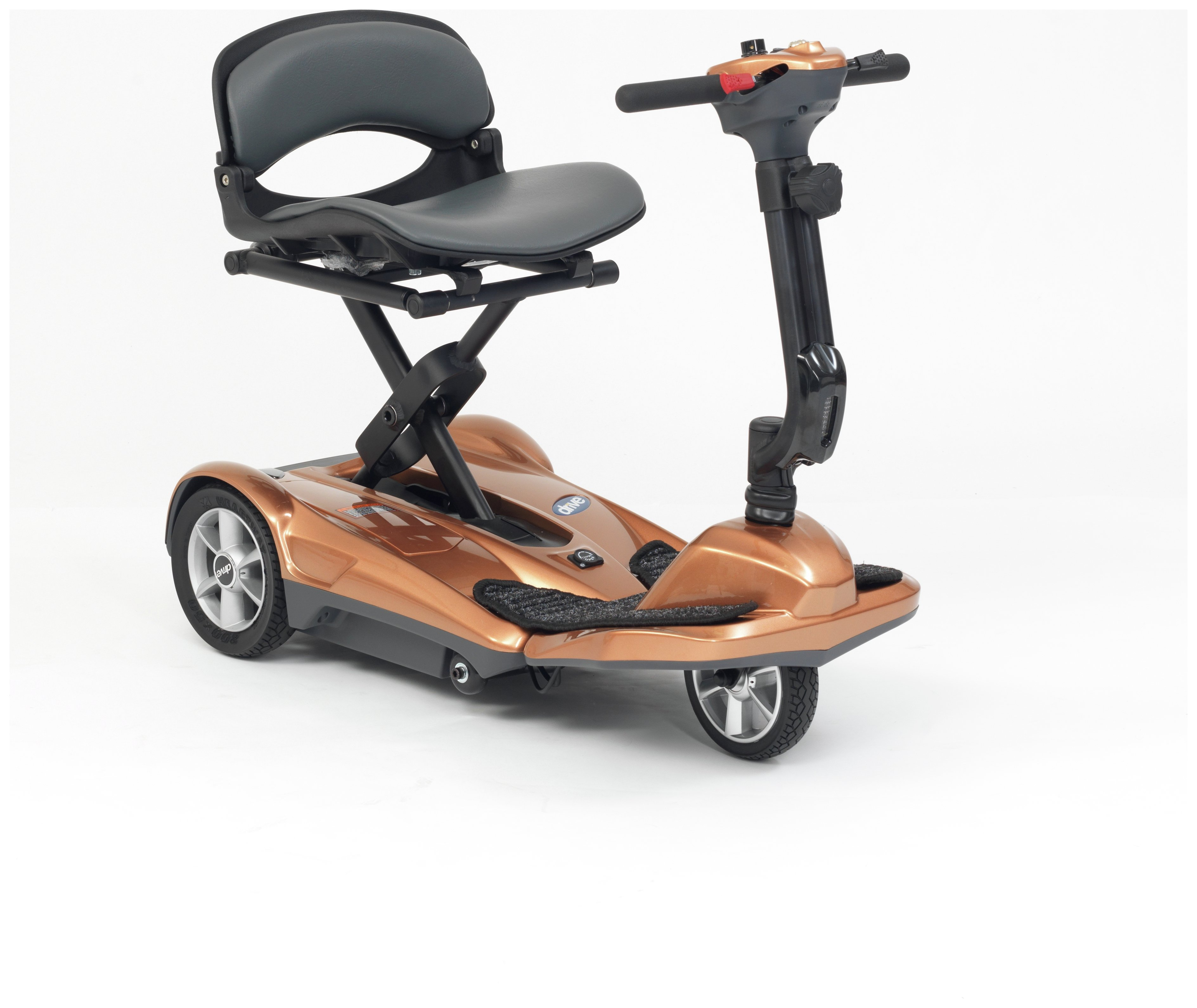 Copper Folding Boot Scooter.