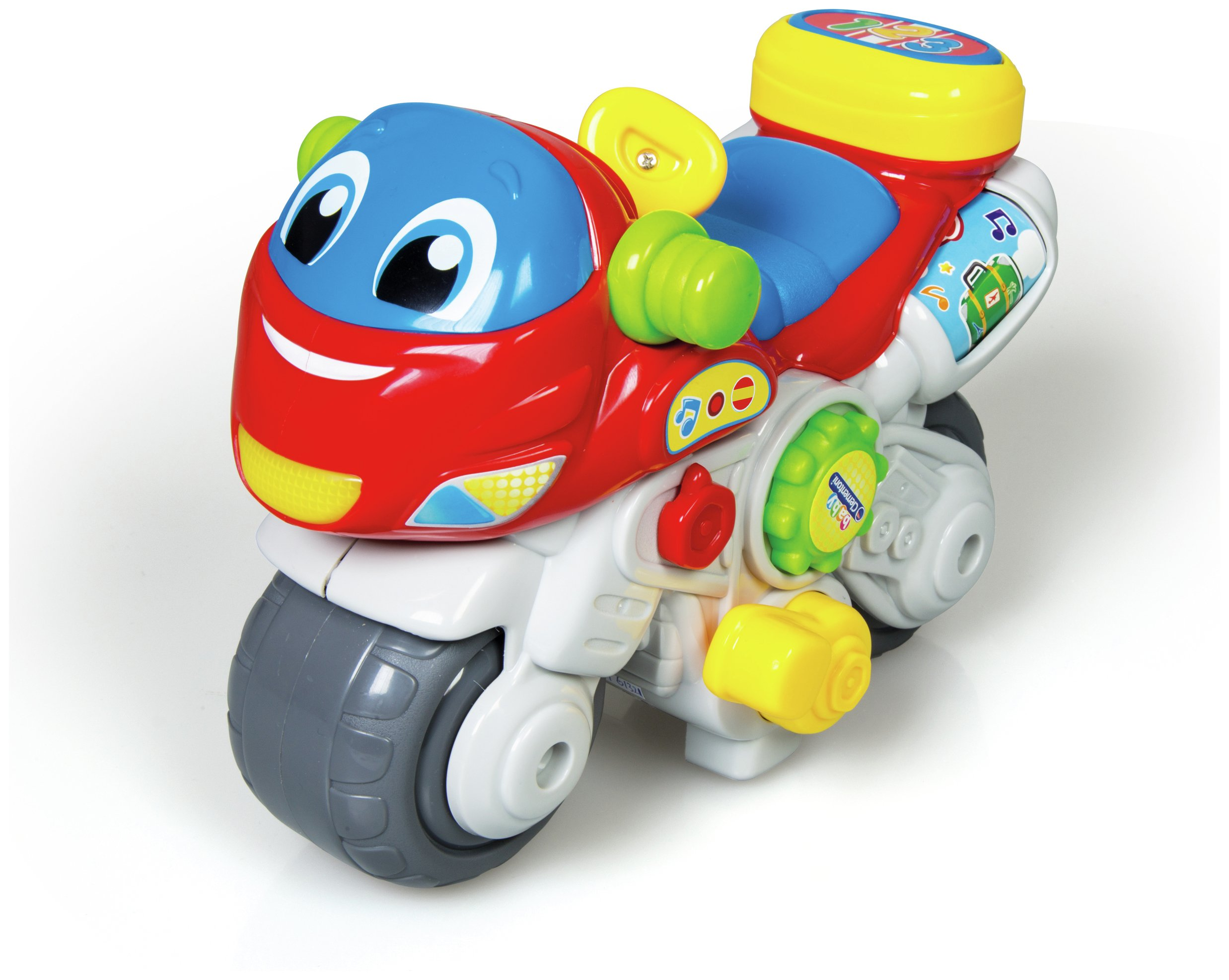 Image of Baby Clementoni Activity Motorbike
