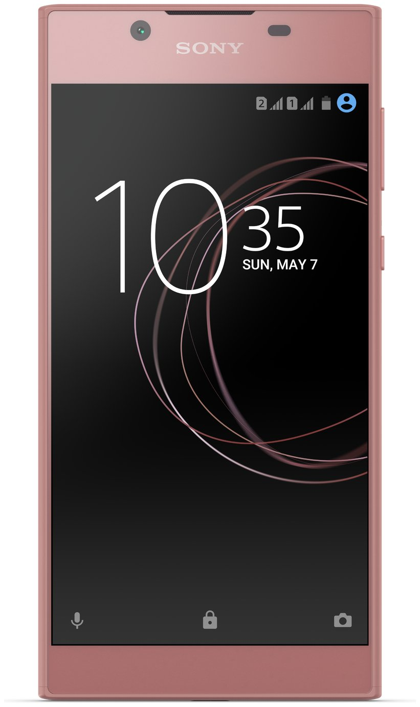 sim free sony xperia l1 mobile phone rose gold. Black Bedroom Furniture Sets. Home Design Ideas