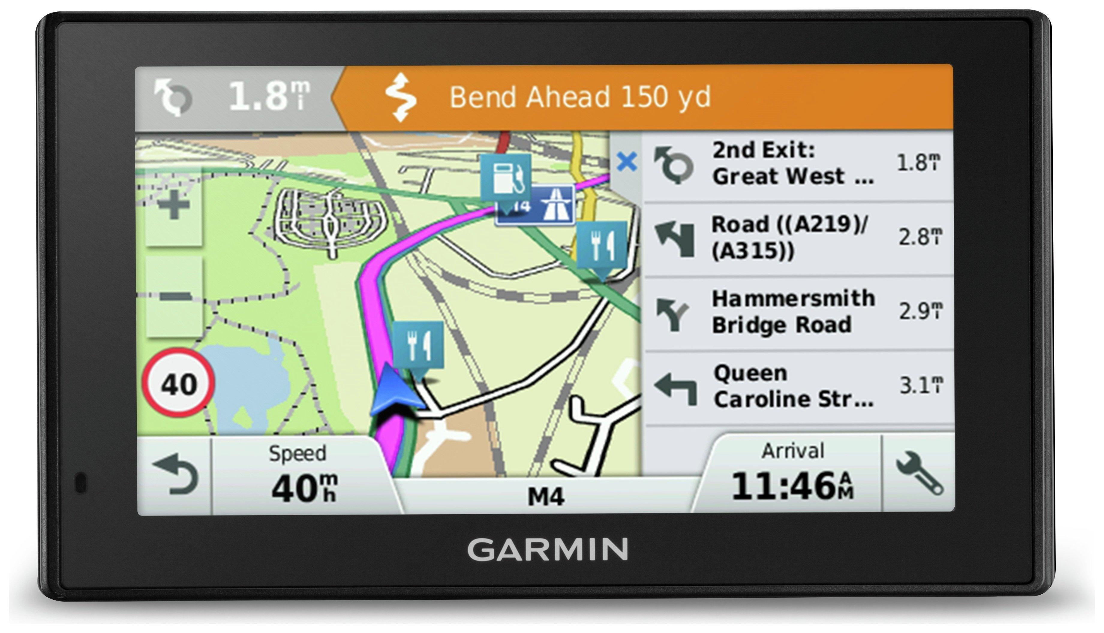 Image of Garmin DriveSmart 51LMT-D Sat Nav Uk Maps & Digital Traffic