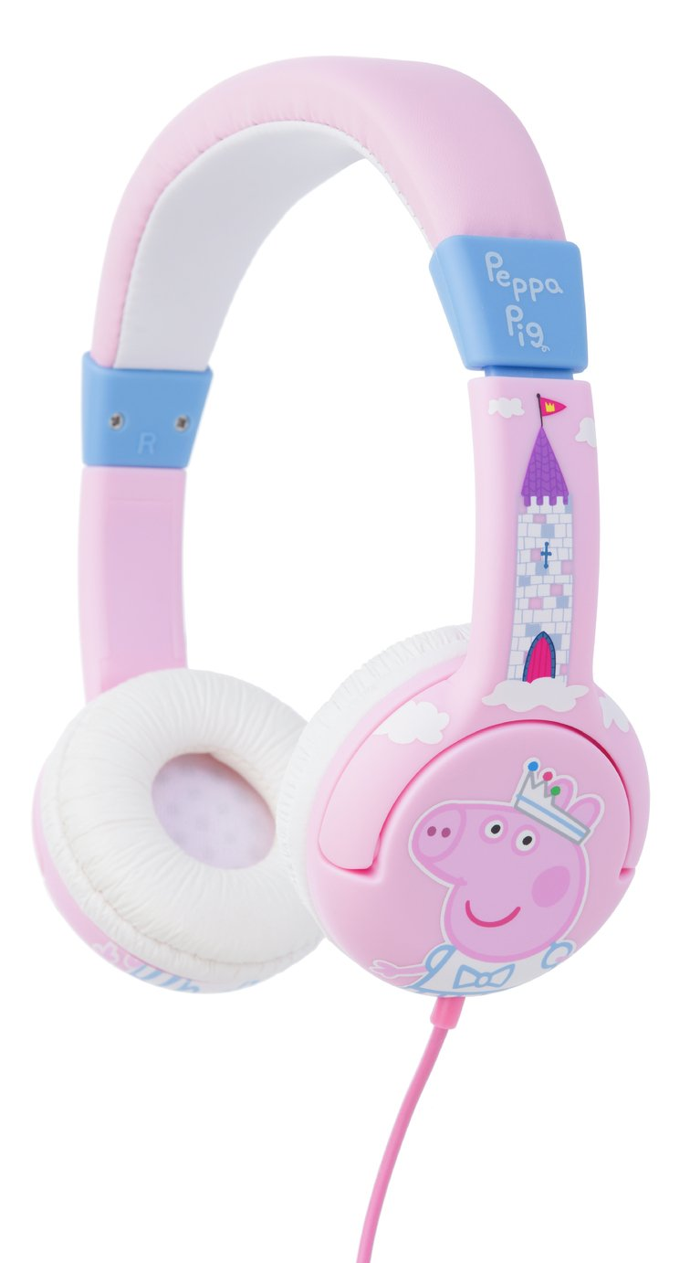 Peppa Pig Kids On-Ear Headphones - Pink