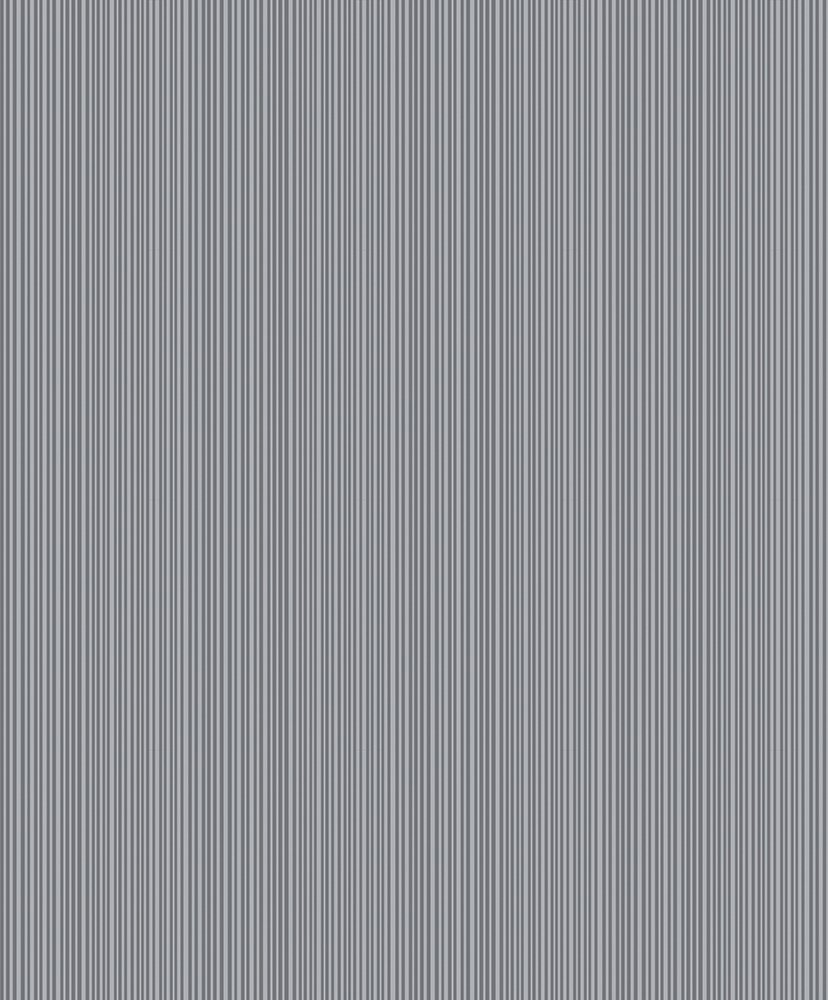 Image of Arthouse Glisten Stripe Gunmetal Wallpaper