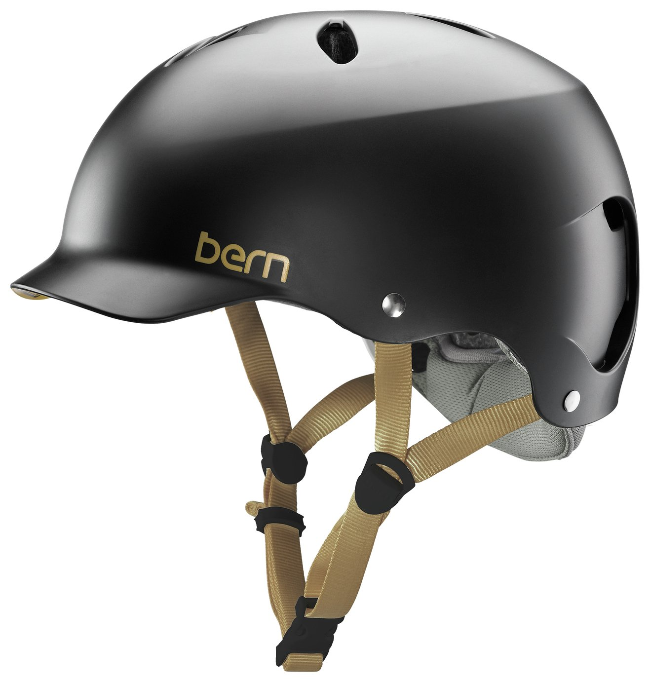 Image of Bern Lenox EPS Summer Helmet - Satin Black