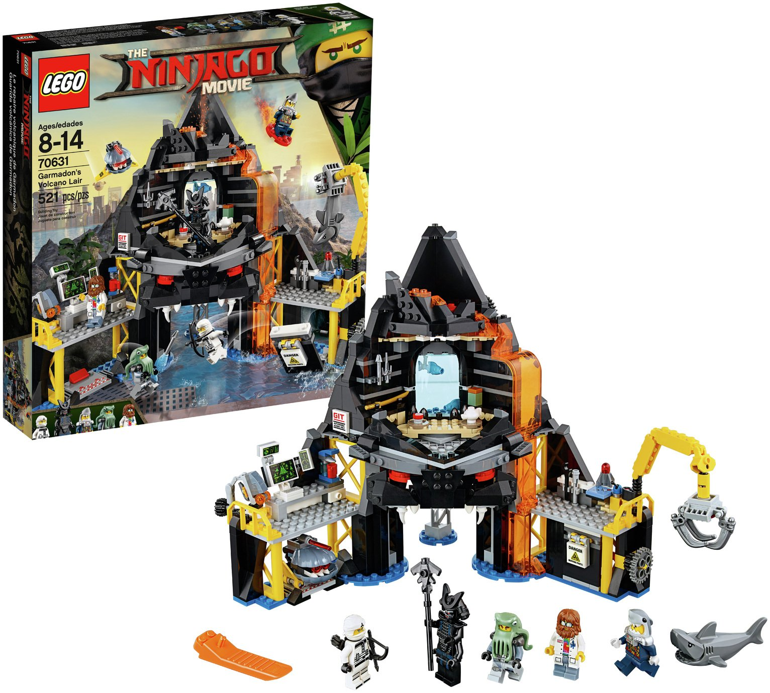 LEGO Ninjago Movie Garmadon's Lair - 70631
